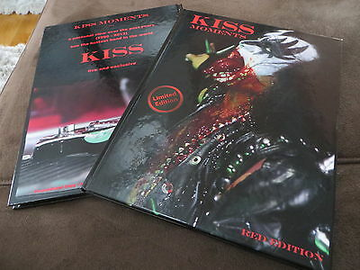 Kiss Moments Buch Book, 3 Poster, Red Edition Gene Simmons, Tour, Lp
