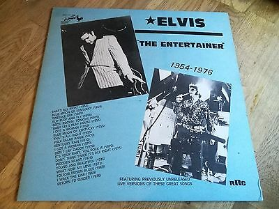 Elvis presley LP The Entertainer 1954-1976 Rooster Records press