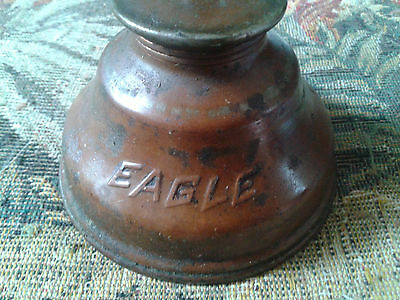 Vintage Eagle Oil Can Thumb Pump Oiler ***not Cleaned*** Copper