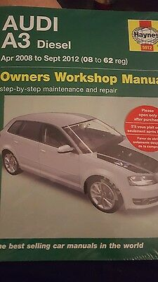 Audi A3 Diesel Owner's Workshop Manual: 2008 to 2012 by John S. Mead...