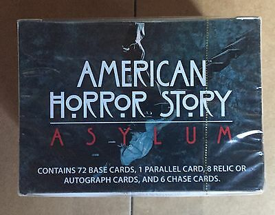 American Horror Story Asylum Sealed Box Auto Cards 8 Hits Per Box!