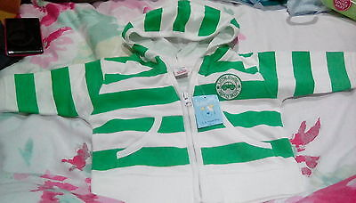 Baby Boys 3-6 months hoodie top striped