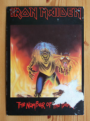 Iron Maiden Postcard - Number Of The Beast