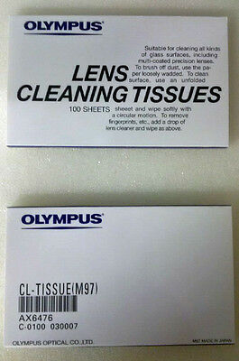 Olympus Lens Cleaning Paper Tissue 10 Packs of 100 (1000 Total)