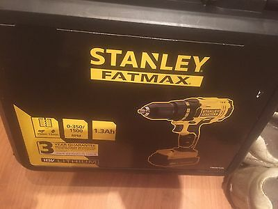 Stanly Fat Max 18 V Drill