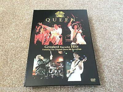 Queen - Greatest Karaoke Hits DVD / 2CD Korea Box Set (Freddie Mercury)