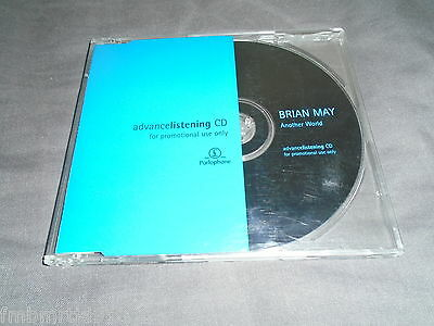 Brian May - Another World CD Promo Advance (Queen Freddie Mercury Roger Taylor)