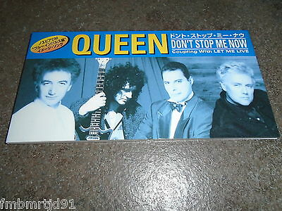 "Queen - Don't Stop Me Now Japan 3"" CD Single (Freddie Mercury, Brian May)"
