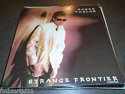 "Roger Taylor - Strange Frontier 12"" Single (Queen Freddie Mercury Brian May)"