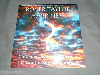 "Roger Taylor (Queen) - Happiness 7"" Single (Freddie Mercury, Brian May)"