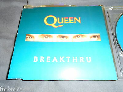 Queen - Breakthru UK CD Single (Freddie Mercury, Brian May, Roger Taylor)