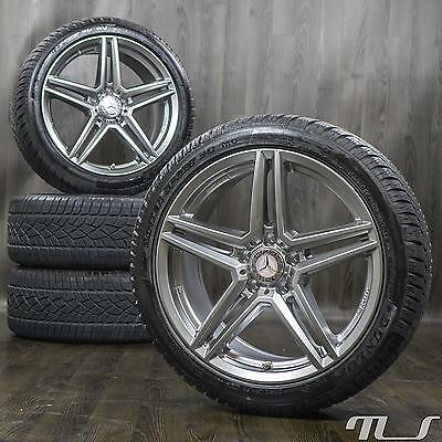 18 rial m10 rims for mercedes e class w212 winter tyres. Black Bedroom Furniture Sets. Home Design Ideas