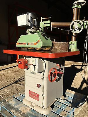 Wadkin BER 2 Spindle Moulder with Steff Power Feed
