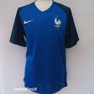 FRANCE Nike Official Home Shirt 2016/17 NEW M,L,XL Jersey Maillot Domicile