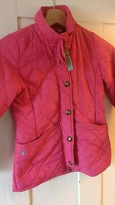 Girls Joules coat age 7