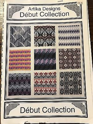 1991 Artika Designs Debut Collection Patterns w/Disk Brother Knitting Machine