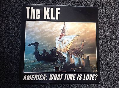 "The Klf - America: What Time Is Love ? 1992 12"" Single Excellent"