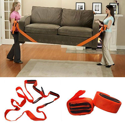 Practical 2pcs Transport Furniture Moving Conveying Belts Wrist Easier