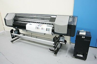 "HP DesignJet 8000s - 64"" Wide Format Solvent Printer"
