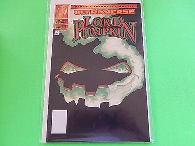 Ultraverse Lord Pumpkin Issue #0 Malibu Comics New