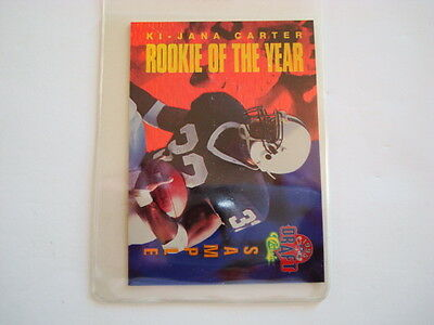 Ki-Jana Carter  1995 Classic Draft Rookie Of The Year Sample Card Number Hp1