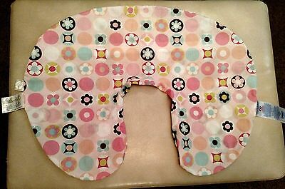 Pink Boppy Cover Only Dots and Flowers