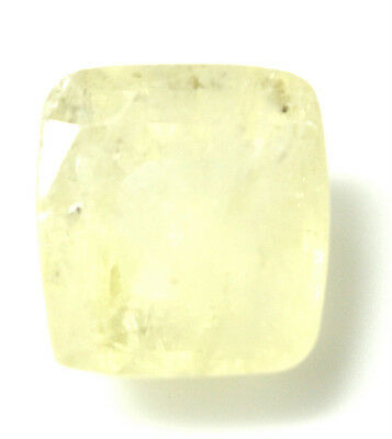 LOOSE 100% NATURAL & CERTIFIED 6.42 ct. RECTANGLE YELLOW SAPPHIRE GEMSTONE - 47