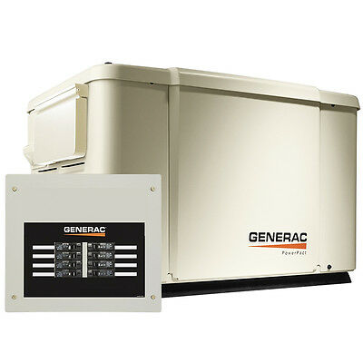 Generac 6998 7.5kW PowerPact Home Standby Back-up Power Generator