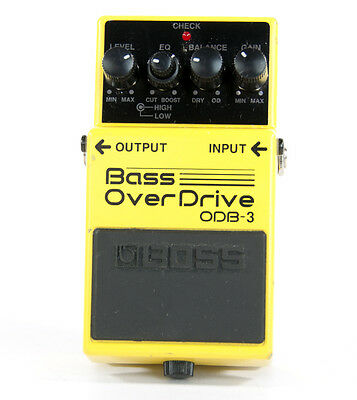 BOSS Bass OverDrive ODB-3 Electric Guitar Effect Pedal Roland Over Drive ODB3