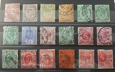 Lot stamps british colonies (1)