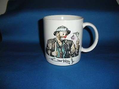 "Emmett Kelly Jr Mug/cup ""wilted Flower"" Signed, Made In Japan.  Flambro"