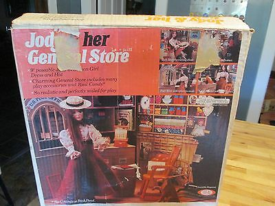 Vintage 1975 Ideal JODY & Her GENERAL STORE Play set 95% complete + Box NICE!