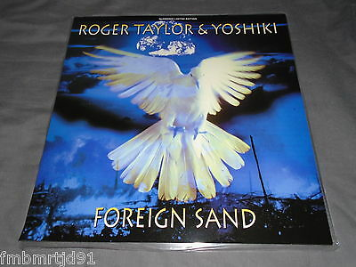 "Roger Taylor (Queen) - Foreign Sand 12"" Pic Disc Numbered (Freddie Mercury)"