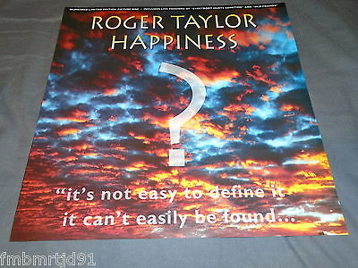 "Roger Taylor (Queen) - Happiness UK 12"" Pic Disc Numbered (Freddie Mercury)"