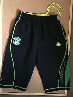 Official Le Coq Sportif Hibernian Football Shorts, Size Adult Small in VGC