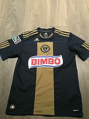 Philadelphia Union Home Shirt 2010/11 Youths 13/14 Years Rare