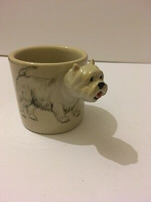 Blue Witch West Highland Terrier 3D Cup