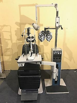 Reliance 7700 Stand 6200 Chair AO Phoropter Topcon 2E Slit Lamp Lane