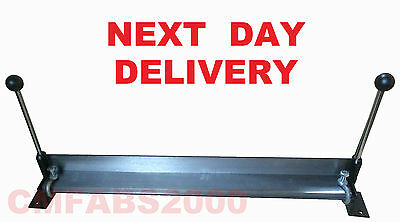 "30"" Sheet Metal Folder Bench Mounted Bender Bending Brake ** CLAMPS INCLUDED **"