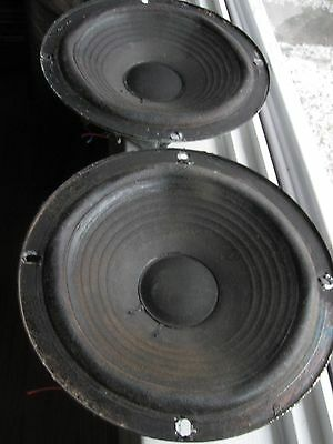 Pair Of Acoustic Research AR4x Woofers Good Working Condition.