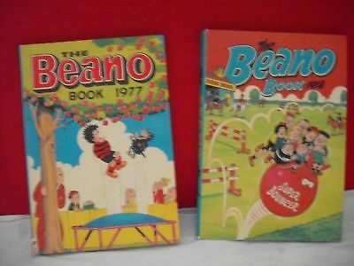 two beano annuals