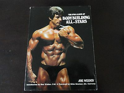 1979 The IIFB Album of Bodybuilding All - Stars Joe Weider 239 pages .
