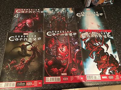 Superior Carnage  # 1 to 5 + Annual - Marvel Comics