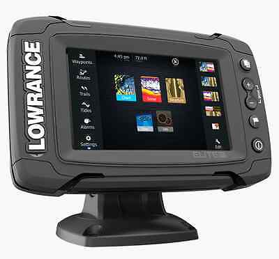 Lowrance Elite-5 Ti Touch mit 83/200 455/800 kHz TotalScan Geber Echolot GPS