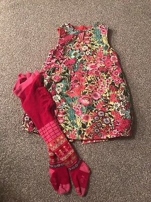 Oilily Dress And Tights Age 2