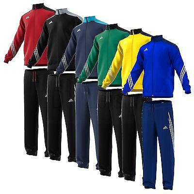 Adidas Boys Tracksuits Kids Junior Football Tops Pants Bottoms Full Zip Age 5-14