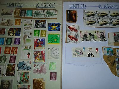 Assorted Stamps From The Uk