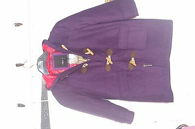 Feraud purple duffle coat