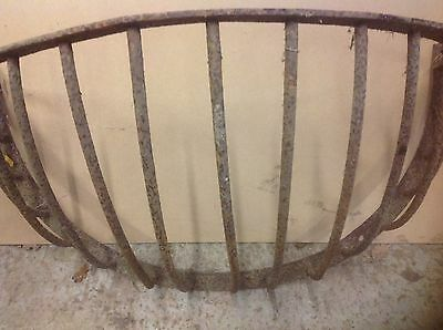 Vintage ~Antique Hay Rack~Garden Planter~Wrought Or Cast Iron~Lovely.