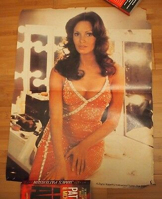 "JACLYN SMITH CHERLY LADD CHARLIES ANGELS 1970s Poster 16""x22""RONA BARRETT Insert"
